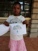 Commendation: Prinsel Waridi, 10 years old